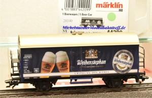 Märklin 44209 Kühlwagen Weihenstephan, (20340)