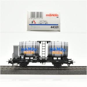 Märklin 44321 Bierwagen Dampf Bier, (21836)