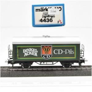 Märklin 4436 Bierwagen Dinkel Acker CD-Pils, (21360)
