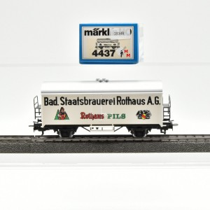 Märklin 4437.1 Bierwagen Rothaus Pils, (25348)