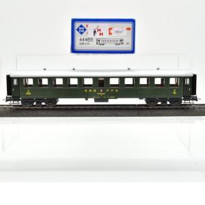 Roco 44465 Stahl-Personenwagen 2.Kl. der SBB, mit Wechstromachsen, (25815)