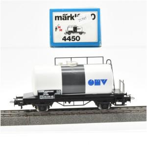 """Märklin 4450.1 Kesselwagen """"OMV"""", (21747)"""