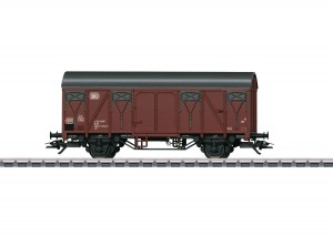 (Neu) Märklin 44500 Gedeckter Güterwagen DB, Ep.IV,