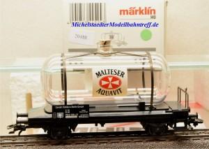 """Märklin 44524 Glaskesselwagen """"Malteser Aquavit"""", (20488)"""
