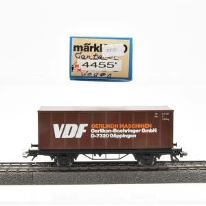 Märklin 4455 Containerwagen VDF, (20723)