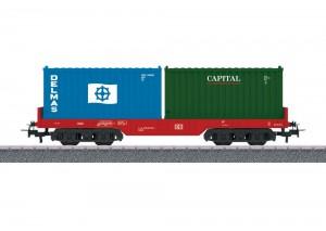 (Neu) Märklin 44700 Containertragwagen DB AG,