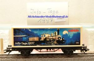 Märklin 4481/97702 Info-Tage-Wagen 1997, (20486)