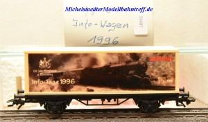 Märklin 4481/96701 Info-Tage-Wagen 1996, (20487)