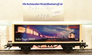 Märklin 4481/98720 Info-Tage-Wagen 1998, (20498)