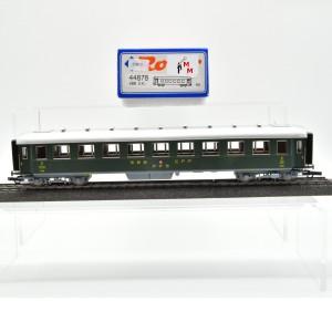 Roco 44878 Stahl-Personenwagen 2.Kl. der SBB, mit Gleich- und Wechstromachsen, (25813)