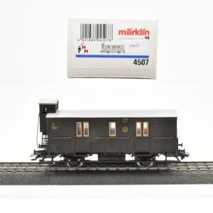 Märklin 4507.10 Paketpostwagen, Dt. Reichspost, (20643)