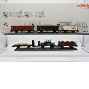 """Märklin 45101 Wagen-Set """"Geislinger Steige 1"""", (25256/1)"""