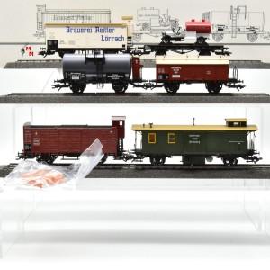 """Märklin 45102 Wagen-Set """"Geislinger Steige 2"""", (25745)"""
