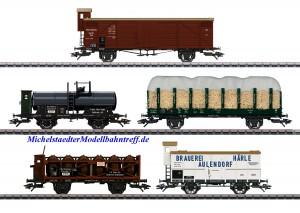 """(Neu) Märklin 45175 Güterwagen-Set, 5 Wagen, """"175 Jahre Eisenbahnen in Württemberg"""", Ep.I,"""