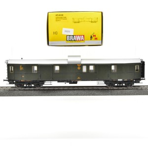 Brawa 45400 Preußischen Gepäckwagen der DRG, (25253)