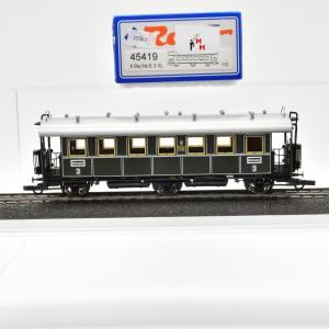 Roco 45419 Personenwagen 3. Klasse der K.Bay.Sts.B., mit Wechstromachsen, (25263)
