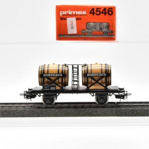 """Primex 4546.1 Weinfasswagen """"Bordeaux"""", (25258)"""