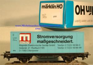 """Märklin 4481/90731 """"Stromversorgung maßgeschneidert"""", (6966)"""