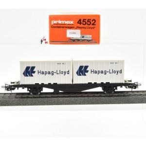 Primex 4552 Containertragwagen Hapag-Lloyd, (21393)