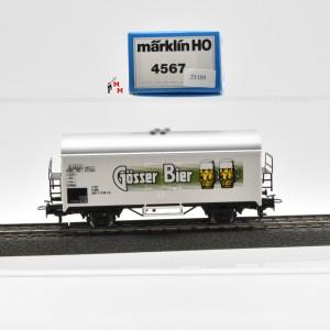 """Märklin 4567 Bierwagen """"Gösser Bier"""", (21105)"""