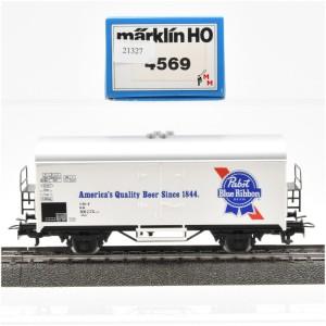 """Märklin 4569 Bierwagen """"Pabst Blue Ribbon"""", (21327)"""