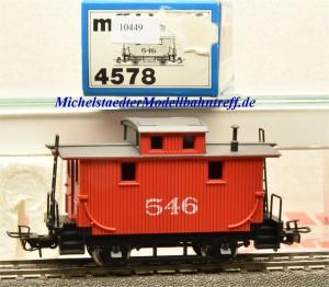 Märklin 4578.1 Güterzugbegleitwagen, USA-Caboose, (10449)