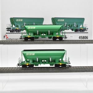 Märklin 45806 Schüttgutwagen-Set der Firma MBC, (22595)