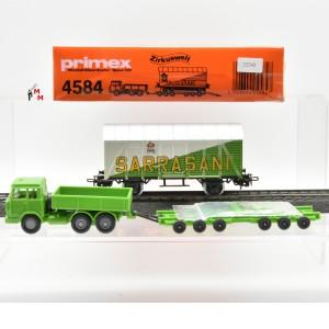 "Primex 4584.10 Wagenset ""Zirkuswelt Sarrasani"", (22243)"