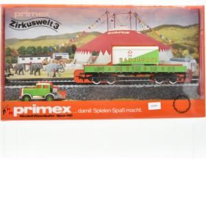 "Primex/Märklin 4586.10 Wagenset ""Zirkuswelt 3-Sarrasani"", (23209)"