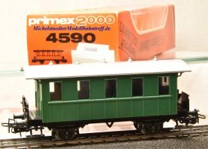 Primex 4590 -2achsiger Plattformwagen, Privatbahn, (16488)