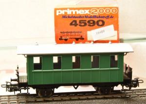 Primex 4590 -2achsiger Plattformwagen, Privatbahn, (16489)