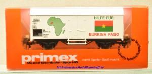 """Primex 4593.1 Kühlwagen """"Hilfe für BURKINA FASO"""", (20104)"""