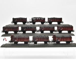 Märklin 46030.100 Kohlewagen-Set der frühen 50er-Jahre, Ohne Verpackung, (25004)