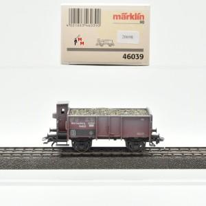 Märklin 46039 Offener Güterwagen, K.W.St.E., beladen, (20698)