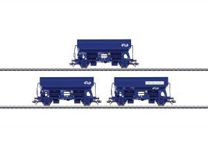 (Neu) Märklin 46305 Selbstentladewagen-Set der NS, Ep.V,