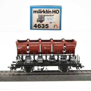 Märklin 4635.1 Muldenkippwagen, DB, (20725)