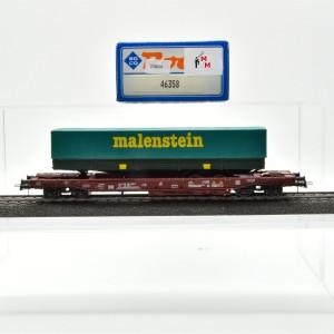Roco 46358 Einheitstaschenwagen der FS, mit Auflieger, (25804)