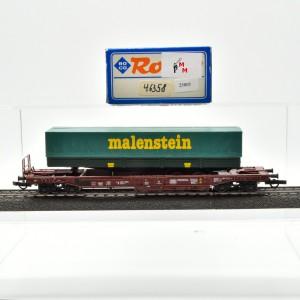 Roco 46358 Einheitstaschenwagen der DB, mit Auflieger, (25805)