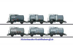 (Neu) Märklin 46436 Kesselwagen-Set VTG gealtert, Ep.IV,