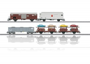 (Neu) Märklin 46567 Güterwagen-Set, SBB, passen zum Insider-Rangier-Krokodil,