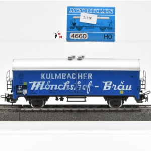 Märklin 4660 Bierwagen Kulmbacher Mönchshof-Bräu, (21918)