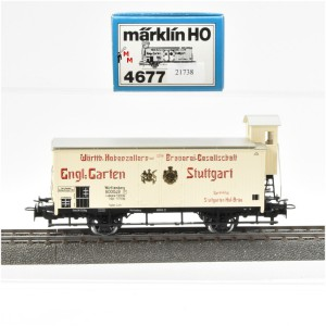 """Märklin 4677 Bierwagen """"Hohenzollern Brauerei"""", (21738)"""