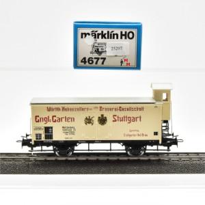 """Märklin 4677 Bierwagen """"Hohenzollern Brauerei"""", (25297)"""