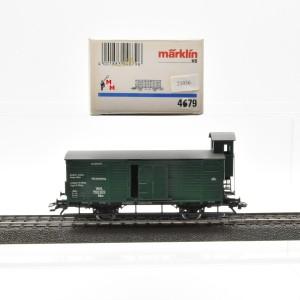 Märklin 4679.1 Ged. Güterwagen mit Bremserhaus, (21036)