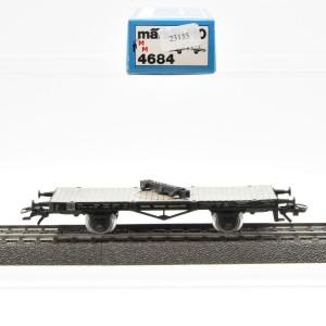 Märklin 4684 Drehschemelwagen der DR, (23155)