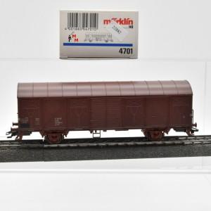 Märklin 4701.1 Gedeckter Güterwagen, DDR, (22882)