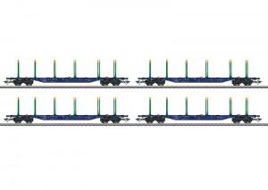 (Neu) Märklin 47093 KLV-Tragwagen-Set der SJ, Ep.VI,