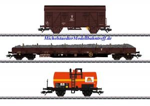"(Neu) Märklin 47103 Güterwagen-Set ""Colas Rail"", Ep.VI,"