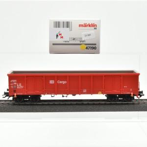Märklin 47190 Hochbordwagen der DB AG, (21185)