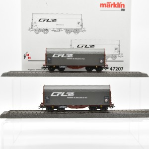 Märklin 47207 Wagenset für Walzstahl-Coils der CFL, (22608)